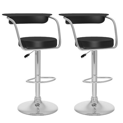CorLiving Adjustable Height Swivel Bar Stool