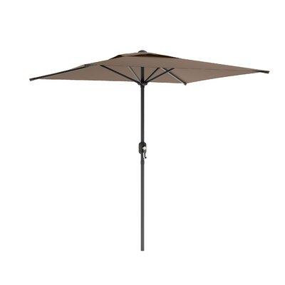6.5' CorLiving Square Market Umbrella Fabric: Sandy Brown