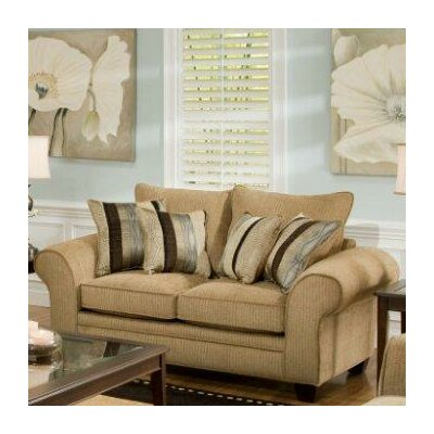 Burlington Loveseat Upholstery: Waverly Suede
