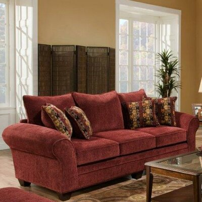 Burlington Sofa Upholstery: Masterpiece Burgundy