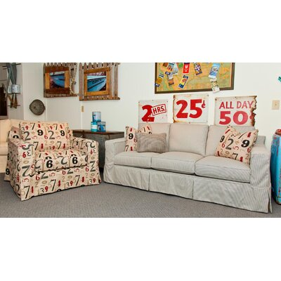Chloe Slip Living Room Collection