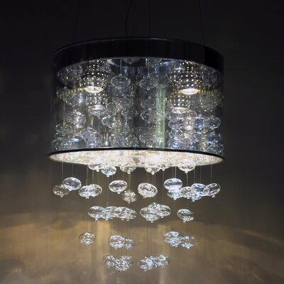 Particle 4-Light Drum Chandelier