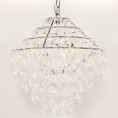 Hanna 3-Light Crystal Chandelier