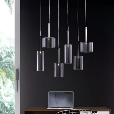 Hale 6-Light Cascade Pendant