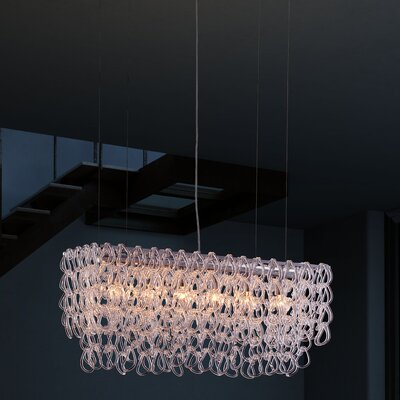 Jet Stream 6-Light Kitchen Island Pendant
