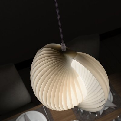 Galileo 1-Light Globe Pendant