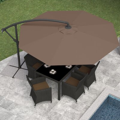 10' Cantilever Umbrella Fabric: Sandy Brown