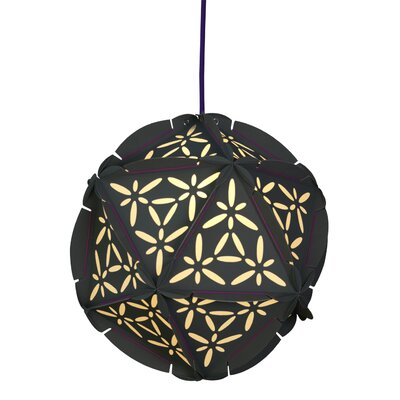Como 1-Light Globe Pendant