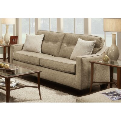 Colby Sofa Upholstery: Brown