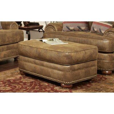 Drew Ottoman Upholstery: Beige