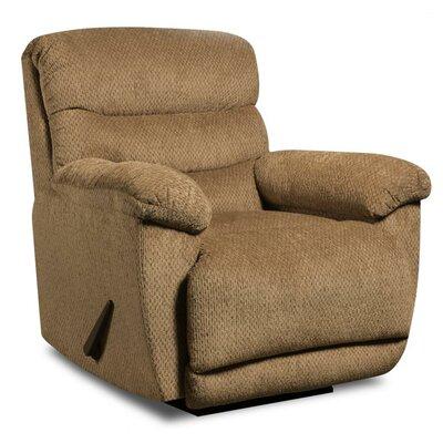 Jurupa Rocker Recliner Upholstery: Mocha