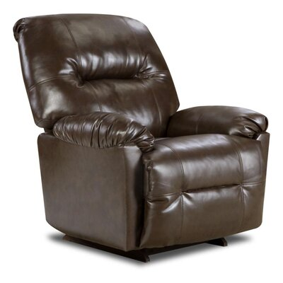 Gennessee Leather Manual Recliner Type: Manual