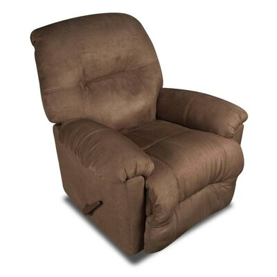 Wyoming Rocker Recliner Reclining Type: Manual, Upholstery: Chocolate