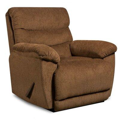 Jurupa Rocker Recliner Upholstery: Walnut