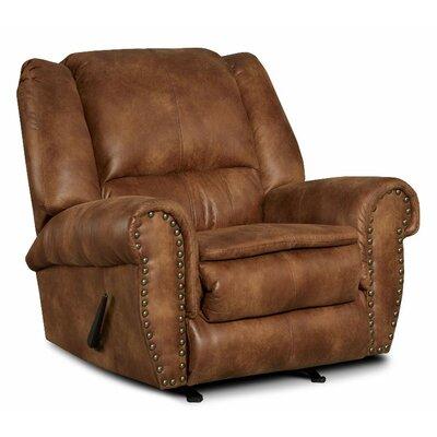 Santa Recliner Upholstery: Padre Almond