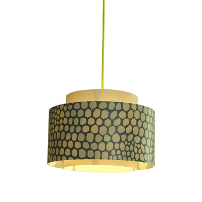 Venlo 1-Light Drum Pendant Color: Nude