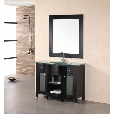 Francea 43 Single Bathroom Vanity Set with Mirror