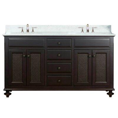 Carlson 60 Double Bathroom Vanity Set