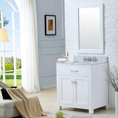 Fran 30 Single Bathroom Vanity Set with Mirror
