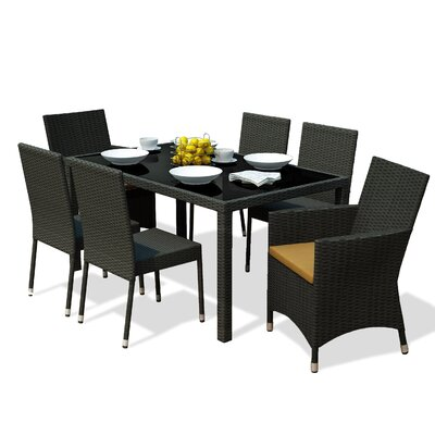 Park Terrace 7 Piece Dining Set