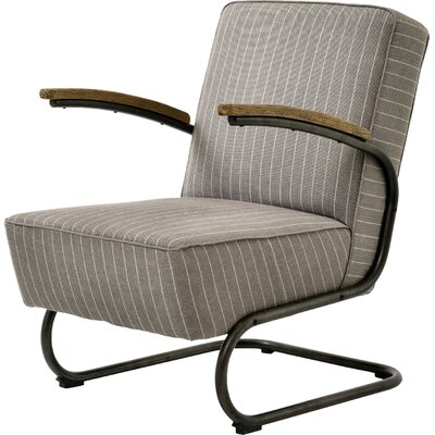 Miles Stripe Arm Chair