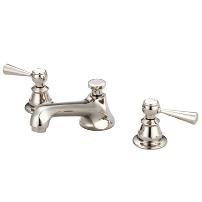 Carlson Lavatory Faucet With Pop-Up Drain Finish: Polished Nickel (PVD)