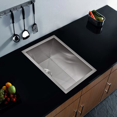 Brier Single Bowl Bar Sink