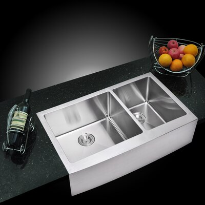 Arlon Double Bowl Kitchen Sink