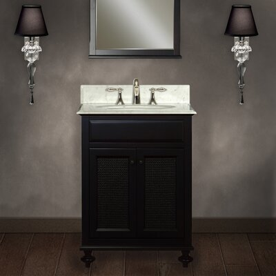 Carlson 24 Single Bathroom Vanity Set with Mirror