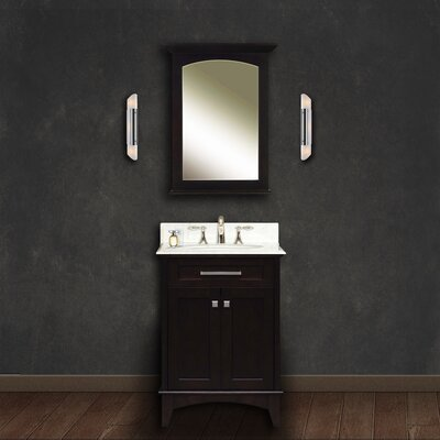 Paton 24 Single Bathroom Vanity Set with Mirror