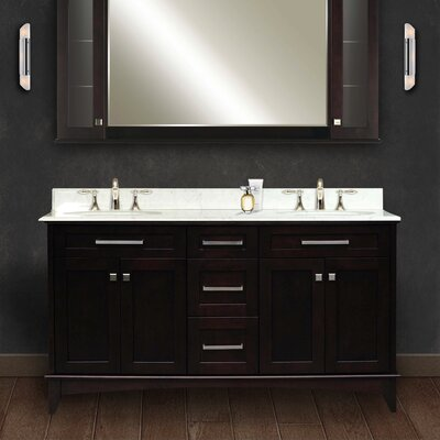 Paton 60 Double Bathroom Vanity Set