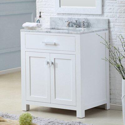 Raven 30 Single Bathroom Vanity Set with Rectangular Sink