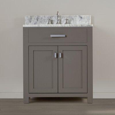 Fran 30 Single Sink Bathroom Vanity Set