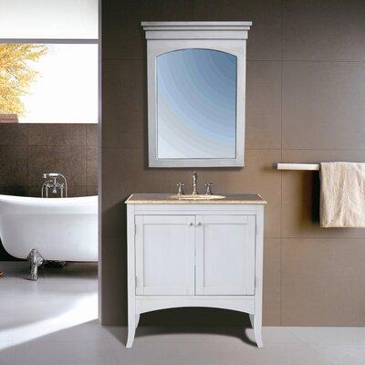 Malloy 36 Single Bathroom Vanity Set with Mirror