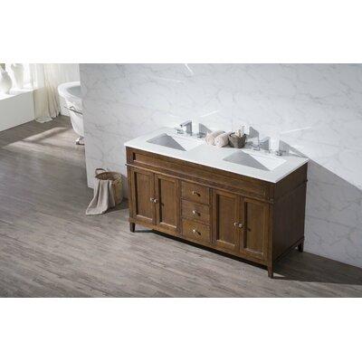 Oakmont 59 Double Sink Bathroom Vanity Set