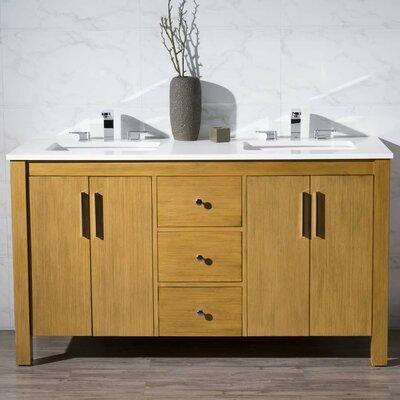 Cambridge 59 Double Sink Bathroom Vanity Set
