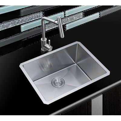 Boulder 23 x 18 Undermount Single Basin Kitchen Sink