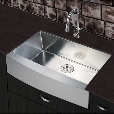 30 x 20 Single Farmhouse Apron Kitchen Sink