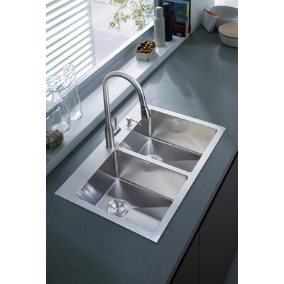 33 x 22 Overmount Kitchen Sink
