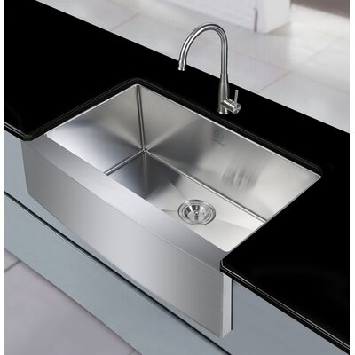 Sycamore 36 x 21 Farmhouse Apron Kitchen Sink