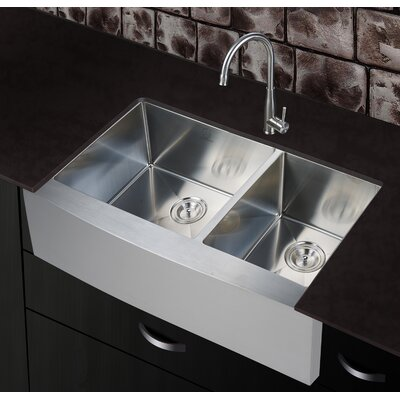 36 x 21 Farmhouse Apron Kitchen Sink