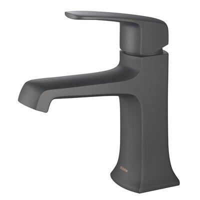Single Handle Faucet Finish: Matte Black