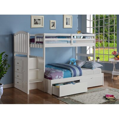 Donco Kids Twin over Full Bunk Bed LUY1384 18747199
