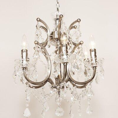 Vastervik 6-Light Crystal Chandelier