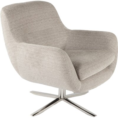 Uge Lounge Chair Upholstery: Brown