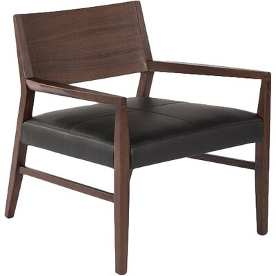 Trondheim Genuine Leather Upholstered Dining Chair