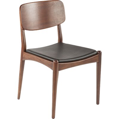 Namsos Genuine Leather Upholstered Dining Chair