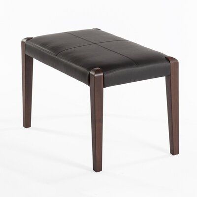 Holstrand Leather Ottoman
