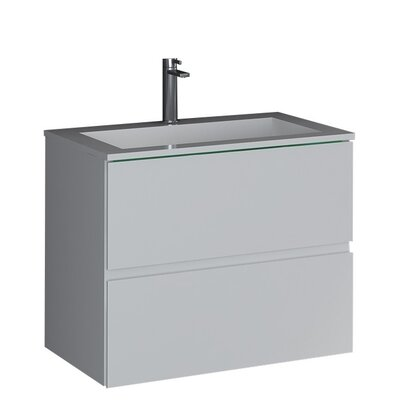 Sheper True Solid Surface 24 Pedestal Bathroom Sink