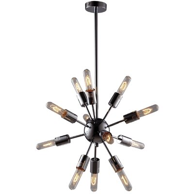 The Visby 12-Light Sputnik Chandelier